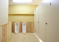 薬師岳山荘 トイレ