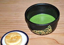 薬師岳山荘 売店メニュー 抹茶
