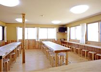 薬師岳山荘 食堂