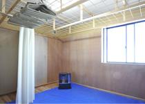 薬師岳山荘 乾燥室
