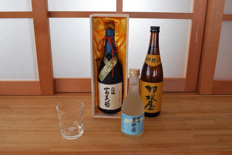純米吟醸・薬師岳・羽根屋