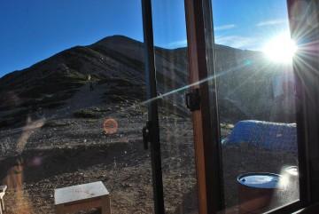 南稜線からの日の出  おはよ~!