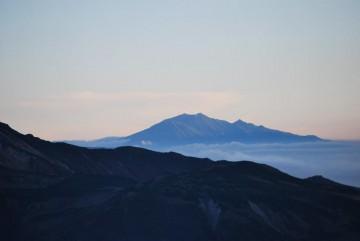 御岳の山肌がはっきり!きれいでした。