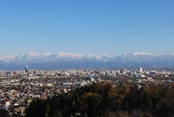 立山連峰オンパレードの始まりですよ (^^)v