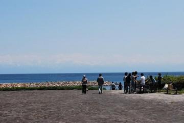 富山に住んでいて初めて見ました。ポスターの通りでした。感激、感激!!