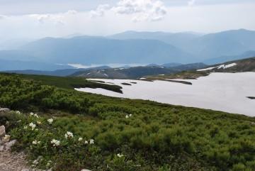 花と景色を愛でながらの登山シーズン到来です (^_^)v