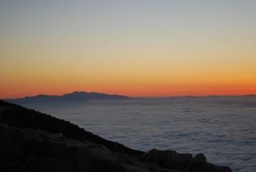綺麗でした。白山が大きく見えました。
