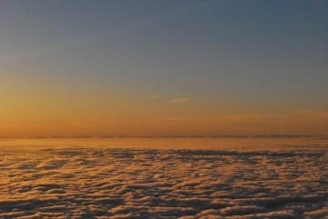 こんな見事な雲海は、いつ以来かしら・・?
