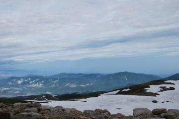 有峰湖も富山平野も、富山湾も、いつもの様に真下に見えます。し・あ・わ・せ(^'^)
