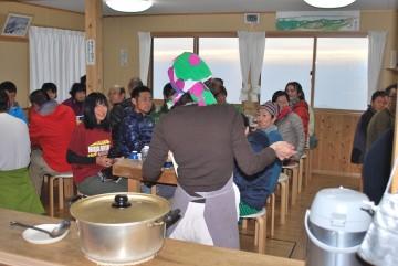 ワイワイ賑やかに、楽しい晩餐会に成りました。