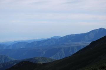 今日の高原バスは最高です。 薬師岳もきれいに見えるでしょ(^.^) 登ってみたくなるでしょ(*^^)v